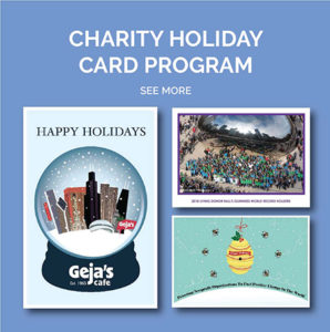 Charity Holiday Card Program Examples
