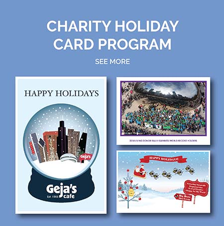 Eclectik Design Charity Holiday Card Program