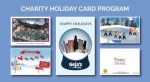 Charity Holiday Card Program Design