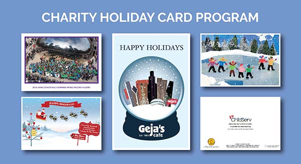 Charity Holiday Card Program Design