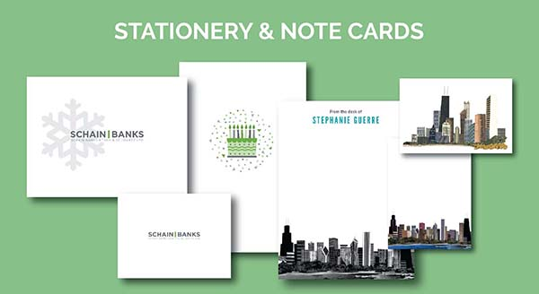 Chicago Stationery & Note Card Designs