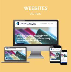 Eclectik Website Design Example