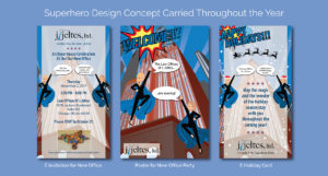 Superhero Design Concept of Design by Eclectik Design