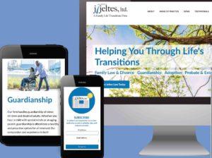 J. Jeltes Law Office Website Design