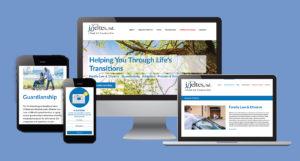 J Jeltes Website Design on Multiple Devices
