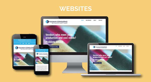 Kaliman Consulting Website Design Across Multiple Devices