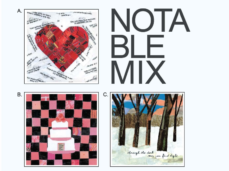 Eclectik Design Card Mix of Design Options