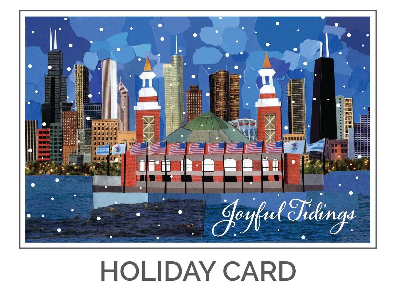Joyful Tidings Holiday Card Design by Eclectik Design