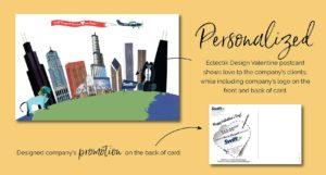 Valentine Postcard Design for Swift Passport by Eclectik Design