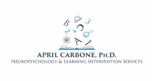 April Carbone, Ph.D. Logo