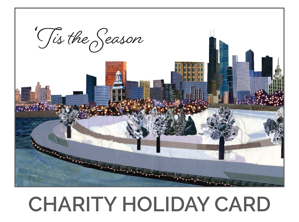 'Tis the Season Charity Holiday Card Design by Eclectik Design