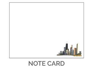 Eclectik Design Chicago Notecard Pocket Size
