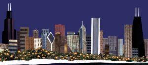 Chicago Skyline Vector Design by Eclectik Design