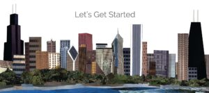 Let's Get Started Chicago Skyline Design