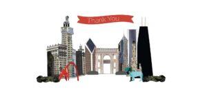 Eclectik Design Thank You Card