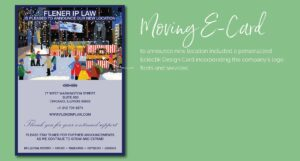 Moving E-Card for Flener IP Law