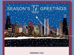 Chicago New Year E-Card for Flener