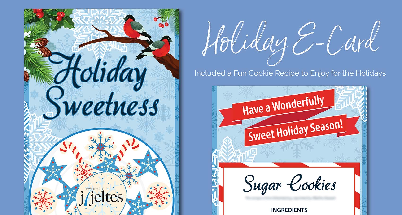 Holiday E-Card for J Jeltes